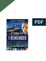 Julie Cannon Recuerdo
