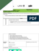 Plan Clases Matematica Fracciones 1