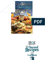Magic Bullet Recipe Book ENG