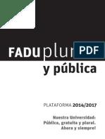 Plataforma FADU Plural