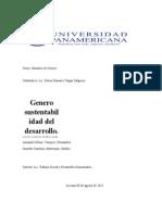 Genero Sustentabilidad Del Desarrollo Yeni