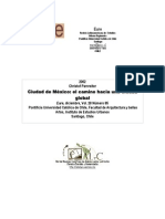 La Ciudad de México Hacia Una Ciudad Global