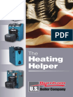 Heating helper for steam boiler and full  calculation