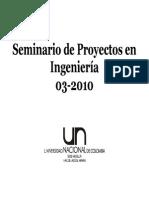 Seminario Proyectos Ingenieria