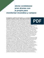 Noticia Sobre Drones 29 Agosto 2015