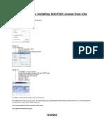 User Guide for Installing FDD