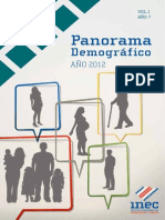 Panorama Demografico 2012