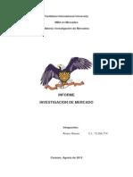 Informe Completo de La Investigacion de Mercados