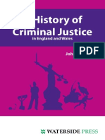 John Hostettler - A History of Criminal Justice in England and Wales