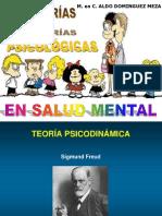 1.6 Principales Teorías Psicológicas en Salud Mental