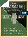 Ron Daiquirí Coctelera Cocktail Book 1948