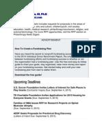 Margarito J. Garcia, III, Ph.D - Foundation Monies For Chicanos.pdf