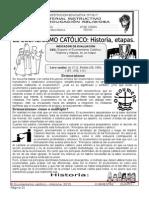 2. El Ecumenismo Católico-Historia, Etapas.