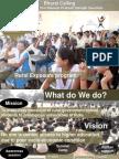 Rural Exposure Fellowship 2015 - Presentation