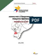 Agenda Territorial El Oro