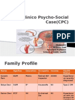 Clinico Psycosocial Case OF STROKE & ITS REHABILITATION