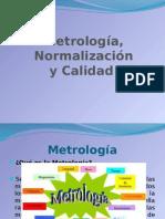 Metrologia, normalizcion y calidad