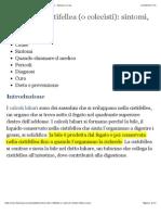 Calcoli Alla Cistifellea