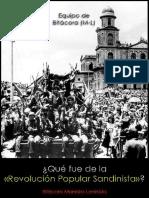 Equipo de Bitácora (M-L); ¿Qué fue de la «Revolución Popular Sandinista», 2015.pdf
