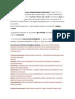 Definición de Percepción en El Comportamiento Organizacional