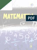KelasIX Matematika BS Semester 1 CRC