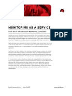Monitoring as a Service
