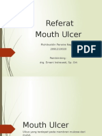 Referat Mouth Ulcer