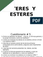 Esteres