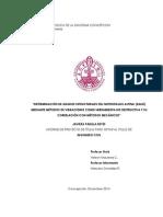 Determinación de grados estructurales del Nothofagus Alpina (Raulí) mediante métodos de vibraciones como herramienta no destructiva y su correlación con métodos mecánicos