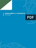 Salud Publica y Comunitaria Programa