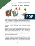 3. PROGRAMAS DE ESTÍMULO AL EMPRENDIMIENTO