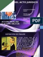 Acto Juridico Fraude en El Acto Juridico