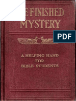 1917 the Finished Mystery 1918 Edition