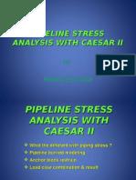 Pipeline Stress Analysis With Caesar II