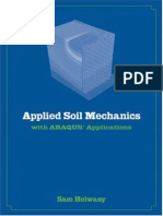 Applied Soil Mechanics With ABAQUS Applications by Sam Helwany