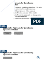 Systematic Approach for Developing Dynamical Models