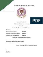 Practica 1, Manufactura Avazada