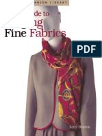 Easy Guide to Serging Fine Fabrics