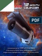 Spitzer 12 Th Anniversary Calendar