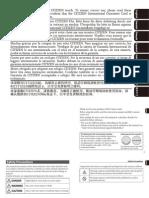 Citizen Instruction Manual J810