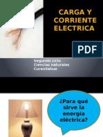 Carga y Corriente Electrica