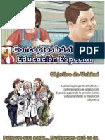 Conceptos Basicos de Educación Especial