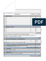 Formulario 21 Analisis de Precios Unitarios1