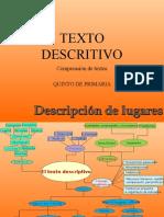 Texto Descriptivo - Comprensión de Textos