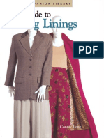 Easy Guide to Sewing Linings