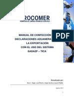 Manual DUA Exportacion
