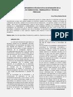 Informe NUCANO Sobre Experiencia Educativa