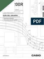 User Manual Cdp200r