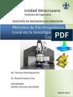 Métodos de Electroquímica Local en La Investigación en Corrosión