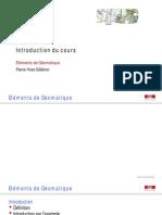 Geomatique-PPT - M11 Intro Cours EG 20131014